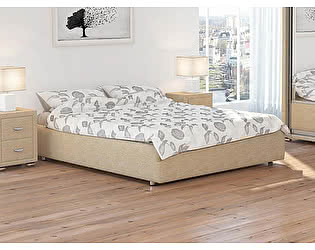 Купить кровать Орма-мебель Veda 1 Base цвета люкс и ткань