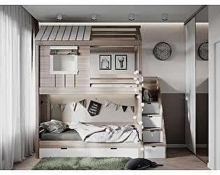 Купить кровать KidVillage Пенсильвания