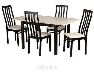 Купить обеденную группу Mebwill Франц II (Венге / Валенсия)