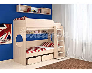 Купить кровать Легенда 7.1 двухъярусная