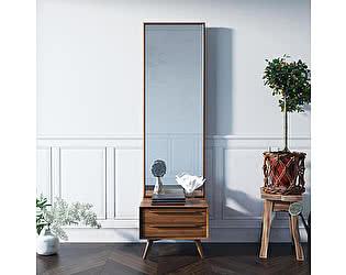 Купить зеркало Этaжepкa Bruni с тумбой, BR50