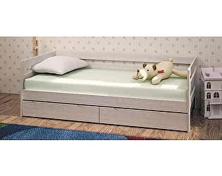 Купить кровать Боровичи-мебель Массив с ящиками