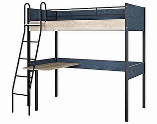 Купить кровать Формула Мебели Дельта Лофт 20.02.01 с рабочей поверхностью