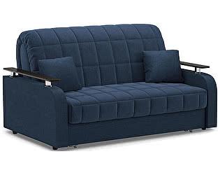 Купить диван Moon Trade Карина 044 прямой синий (пружинный блок)