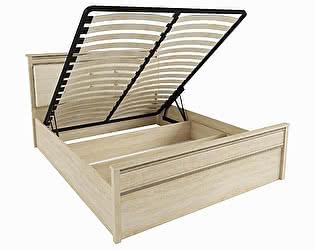 Купить кровать Domani Ливорн 1,4 м ЛКР-1 (1,4), с подъемным механизмом (дуб сонома)