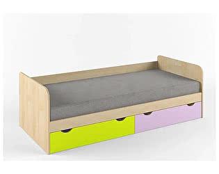 Купить кровать 38 попугаев Выше радуги нижняя (80х170)