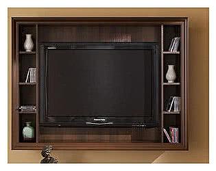 Купить полку Глазов Montpellier панель ТВ навесная (орех шоколадный)