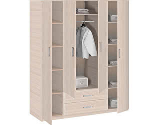 Купить шкаф Боровичи-мебель 4-дверный Эко, арт. 5.15 Эко