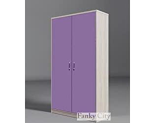 Купить шкаф Фанки Кидз с 2мя дверьми  Сити, ФС-06