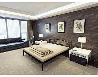 Купить кровать Стиллмет Аура (основание ламели)