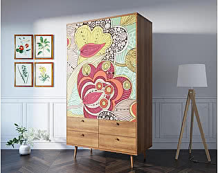 Купить шкаф Этaжepкa Berber 3х створчатый, BB02