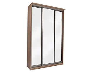 Купить шкаф Орма-мебель Элит 3х дверный купе с 3 зеркальными дверями