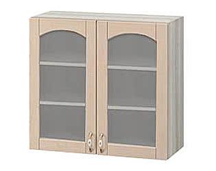 Купить шкаф Боровичи-мебель со стеклом Трапеза массив люкс, МВ-62В