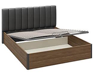 Купить кровать ТриЯ Харрис СМ-302.01.008 с подъемным механизмом с мягкой спинкой