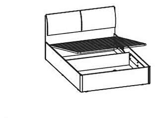 Купить кровать Santan Арго КРП-01-КЖ (120)