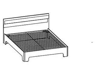 Купить кровать Santan Леонардо КР-201 (140)