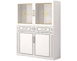 Купить шкаф Ижмебель Виктория 39 комбинированный