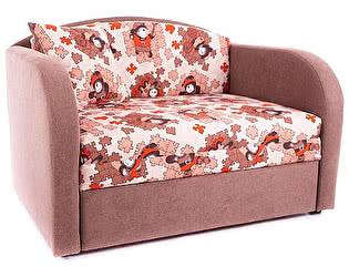 Купить диван Малина Детский Октябренок (Пазлы браун)