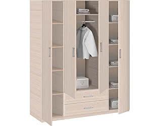 Купить шкаф Боровичи-мебель Эко 4-дверный с зеркалами, арт. 5.15 Z Эко
