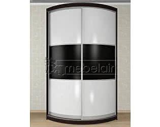 Купить шкаф Mebelain Радиусный Мебелайн 3