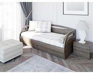Купить кровать Toris Вега D1 (Донго) c ящиками (2 я 70 (Д))