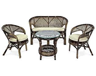 Купить комплект садовой мебели ЭкоДизайн Комплект кофейный Пеланги 02/15 Б