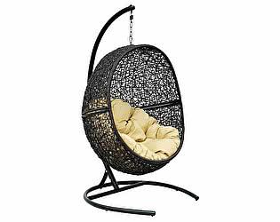 Купить кресло ЭкоДизайн LUNAR BLACK подвесное