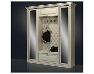 Купить прихожую Благо Б 5.1-2 (с двумя зеркальными дверьми) карамель