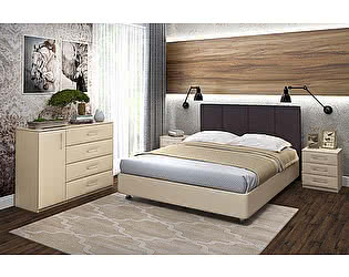 Купить кровать Промтекс-Ориент Риза с подъемным механизмом