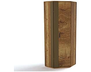 Купить шкаф СБК Ханна ПХ-2 угловой (дуб галифакс табак)