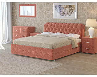 Купить кровать Орма-мебель Como 4 (ткань бентлей)