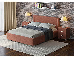Купить кровать Орма-мебель Life 2 (ткань бентлей)