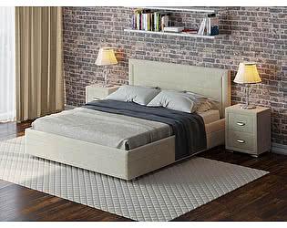 Купить кровать Орма-мебель Life 2 Box с боковым ПМ (ткань бентлей)