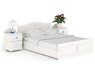 Купить кровать Мебельный Двор Онега ТП-1 + КР-1600 + ТП-1 с тумбами