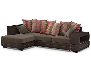 Купить диван Moon Trade Дубай Next 030 угловой левый (коричневый)