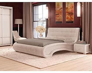 Купить кровать Орма-мебель Leonardo (экокожа цвета люкс)
