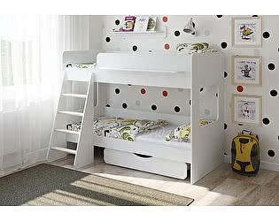 Купить кровать Легенда двухъярусная Легенда 25.2 белый