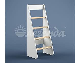 Купить лестницу Легенда Лестница прямая ЛП-25 белый (кровати Легенда 25, 26)