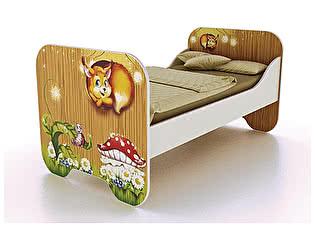 Купить кровать Фанки Кидз Лесная сказка ФБ-КР6 (80х190)