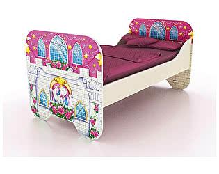 Купить кровать Фанки Кидз Замок принцессы ФБ-КР6 (80х160)