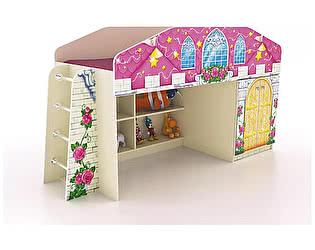 Купить кровать Фанки Кидз чердак Замок принцессы ФБ-КЧ8