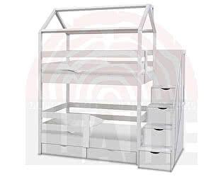 Купить кровать ВМК-Шале домик Блум