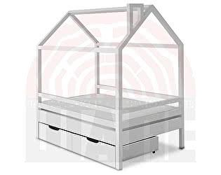 Купить кровать ВМК-Шале домик Пеппи