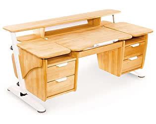 Купить стол PONDI  из массива Эргономик с двумя тумбами