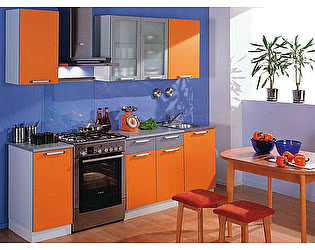 Кухонный гарнитур Трапеза 1700 пластик  (II категория)