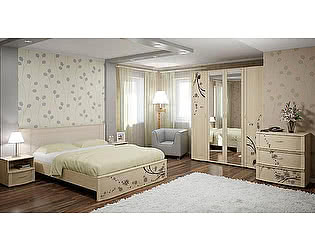 Купить кровать Арника двуспальная Сорбонна СБ-10 (160) без основания