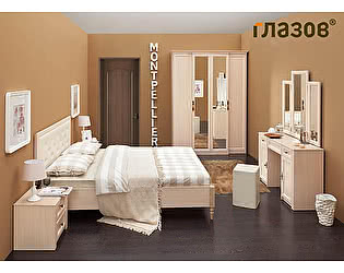 Купить спальню Глазов Montpellier, комплектация 2