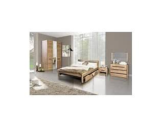 Спальня Заречье Афина (дуб крафт)