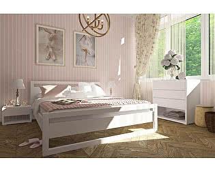 Купить кровать Орма-мебель Квебек, белая эмаль