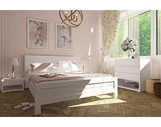 Купить кровать Орма-мебель Торонто, белая эмаль